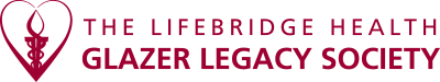 Image of the LifeBridge Health Glazer Legacy Society logo